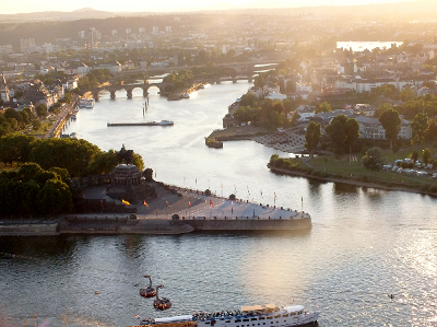 Deutsches Eck in Koblenz, Copyright Stoma-Welt e.V.