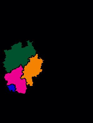 Deutschlandkarte Stoma-Treff