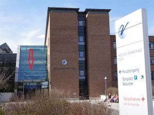 Abbildung: Herz-Jesu-Krankenhaus in Fulda, Treffpunkt des Stoma-Treff Fulda