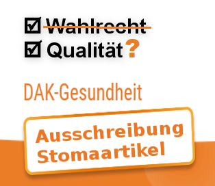 DAK - bleibt die Qualität nach der Stoma-Ausschreibung auf der Strecke?